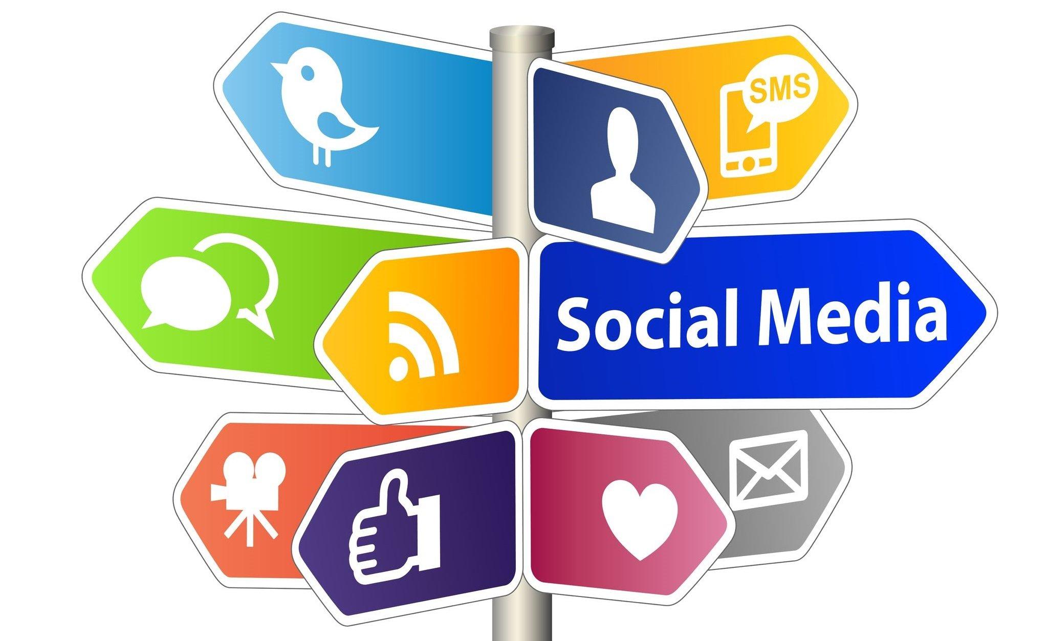 11838001 - social media sign